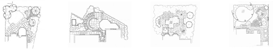 Garden Design Sketches